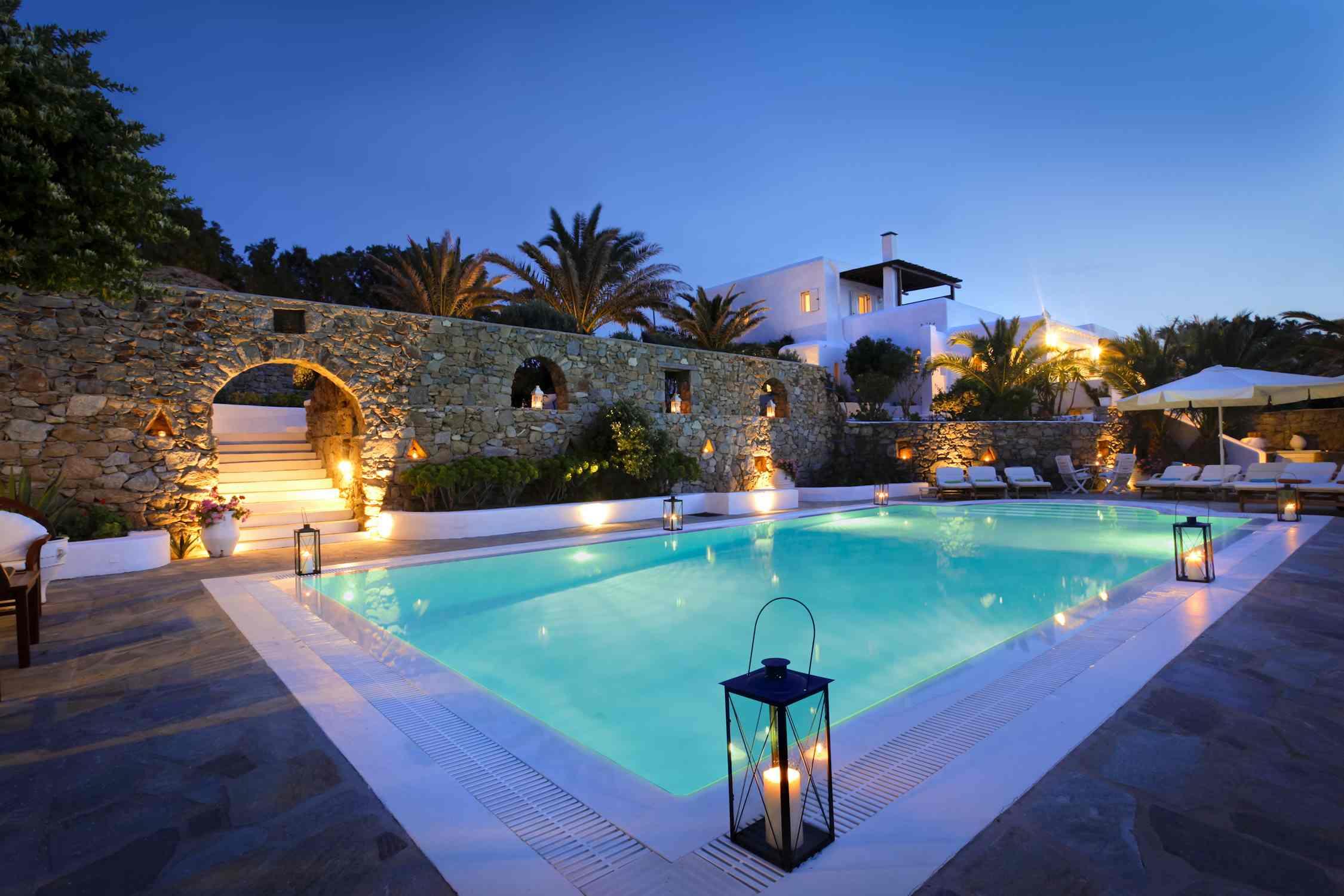 Best Island Beaches For Partying Mykonos St Barts: Hurmuses Villa In Mykonos