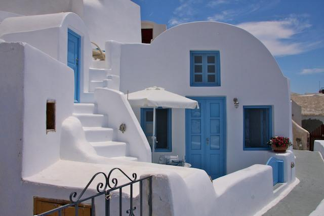 Island Breeze Villa In Santorini