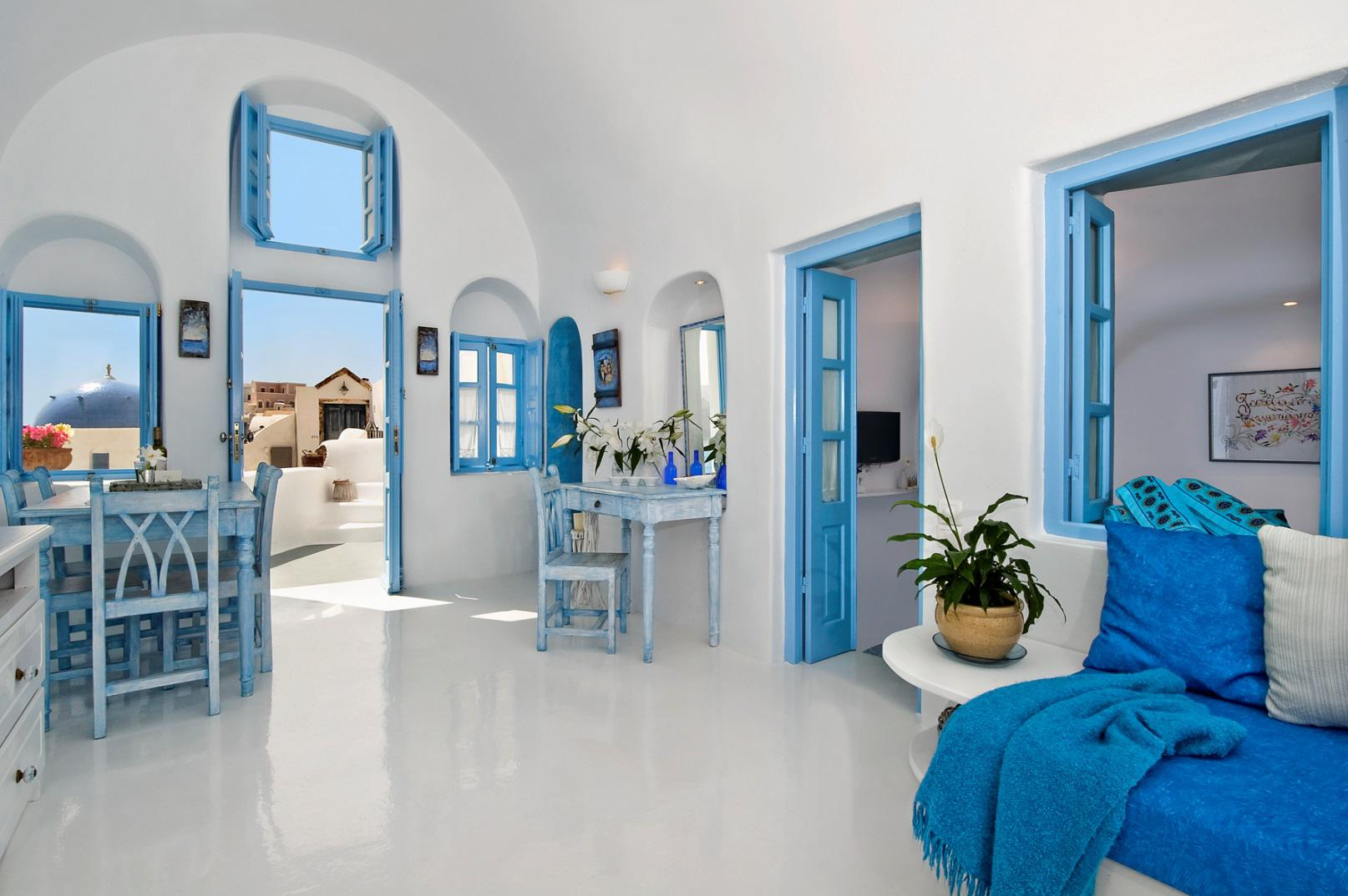 Design Living Room Online Island Breeze Villa In Santorini