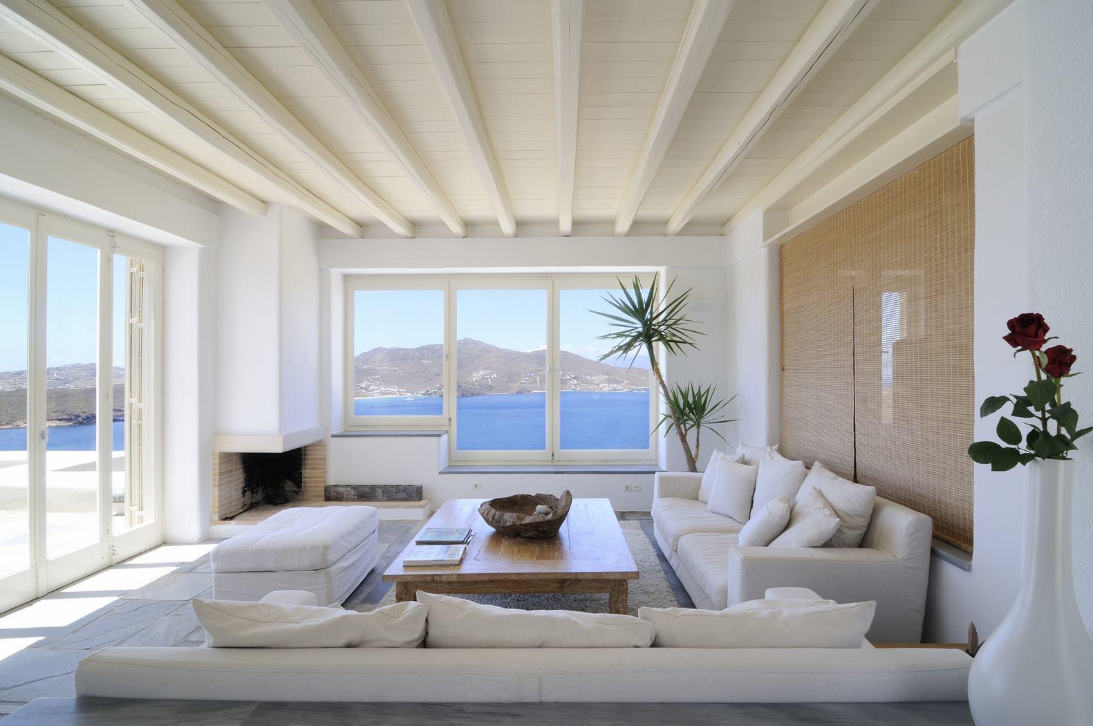 joy villa in mykonos. Black Bedroom Furniture Sets. Home Design Ideas
