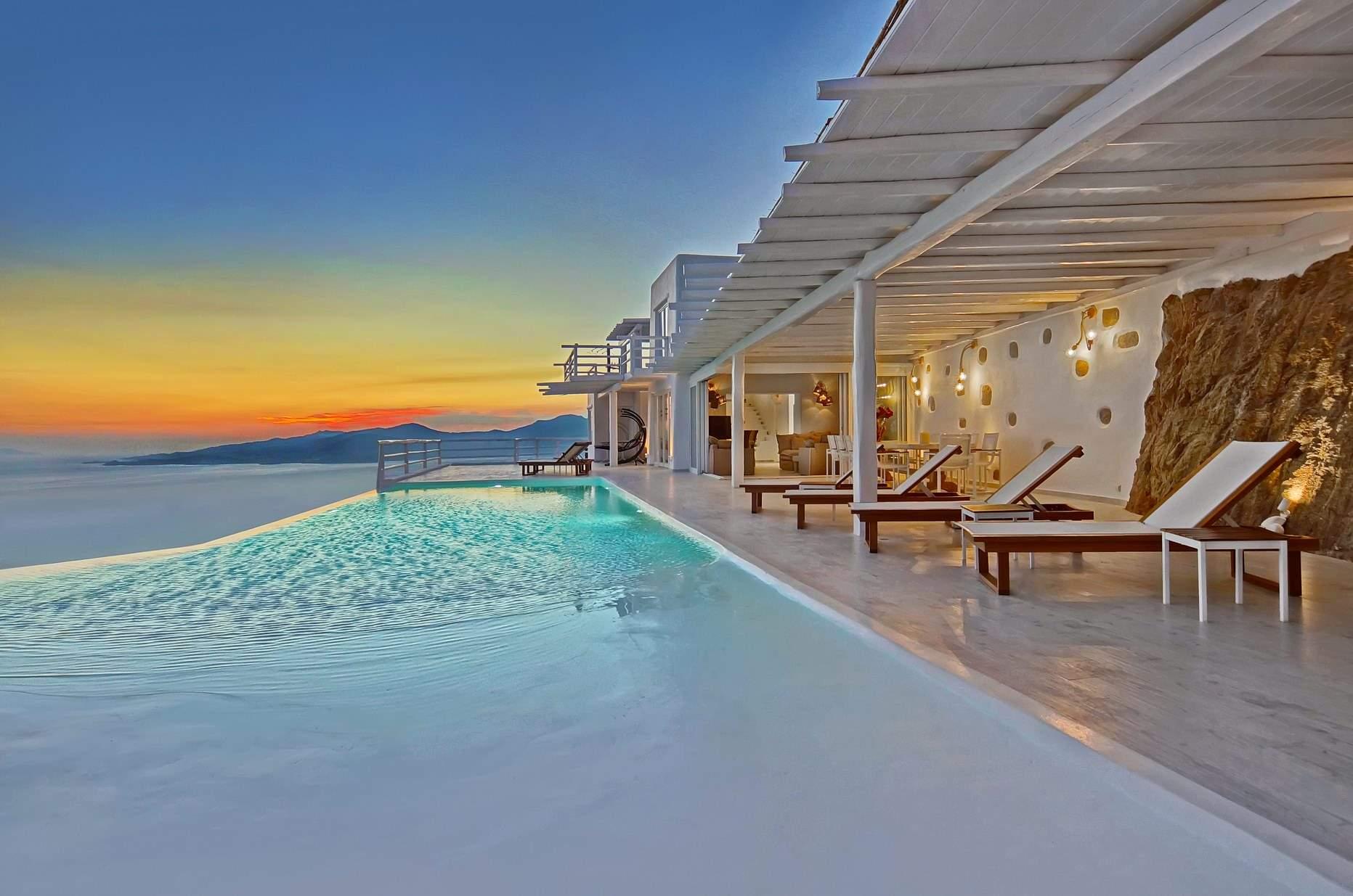 mykonos luxury villa concordia in fanari