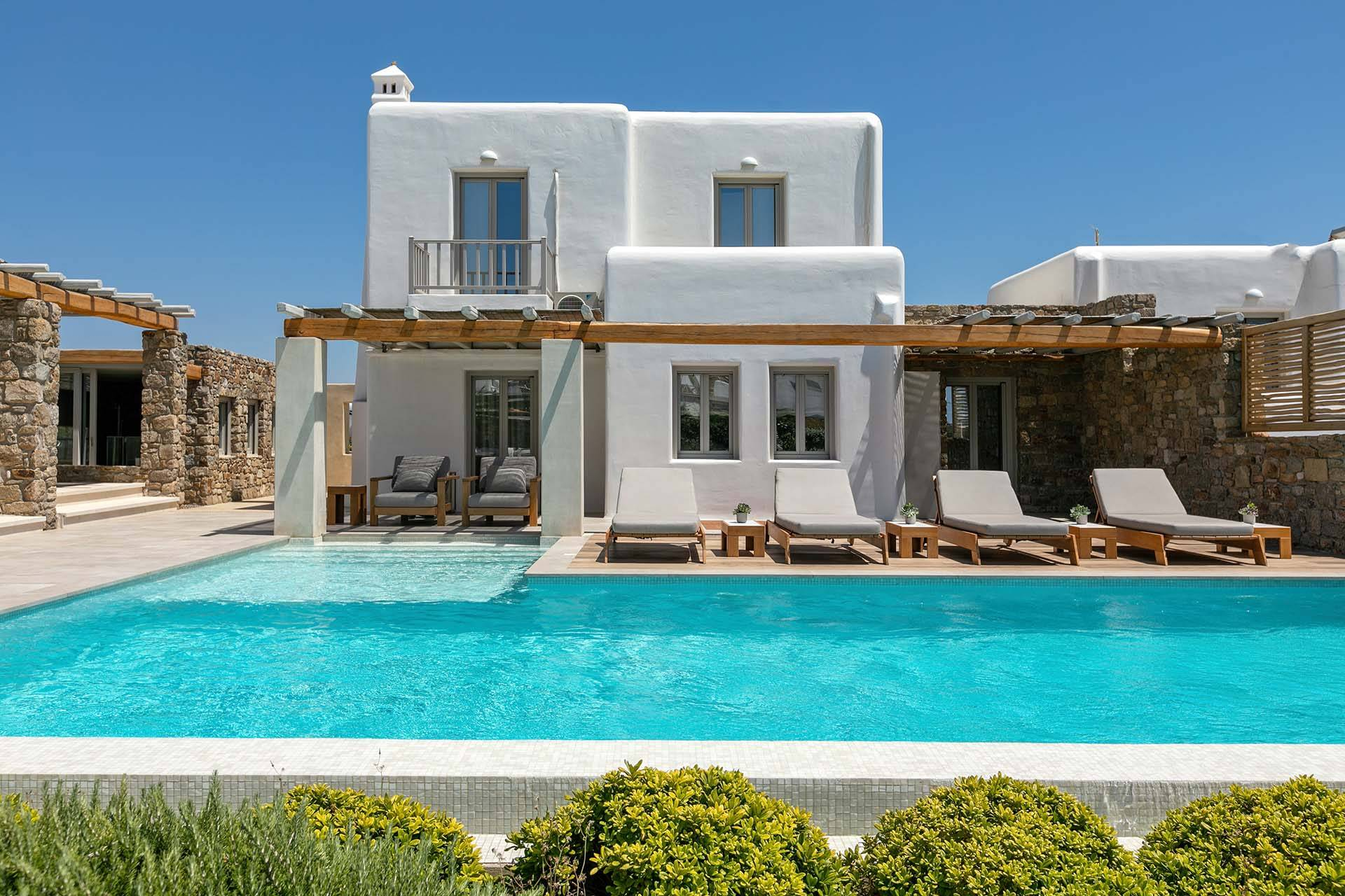 Mykonos luxury villa M One in Tourlos