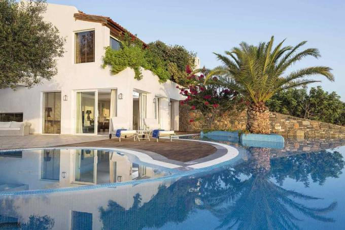 Crete luxury villa Presidential Spa in Elounda