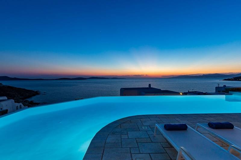 """Get the party started"" Mykonos villas"