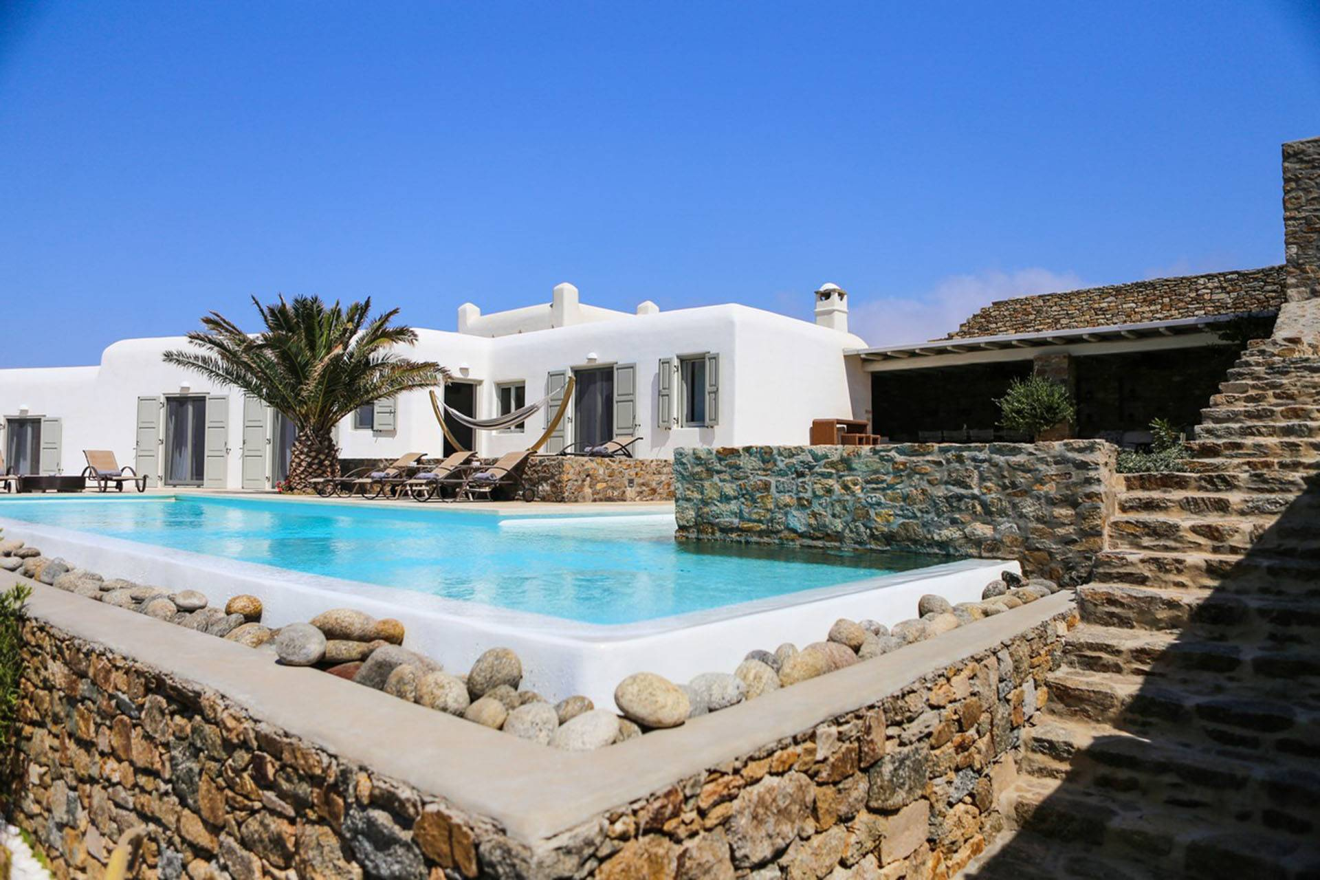 Mykonos luxury villa Sea Haven in Agios Stefanos