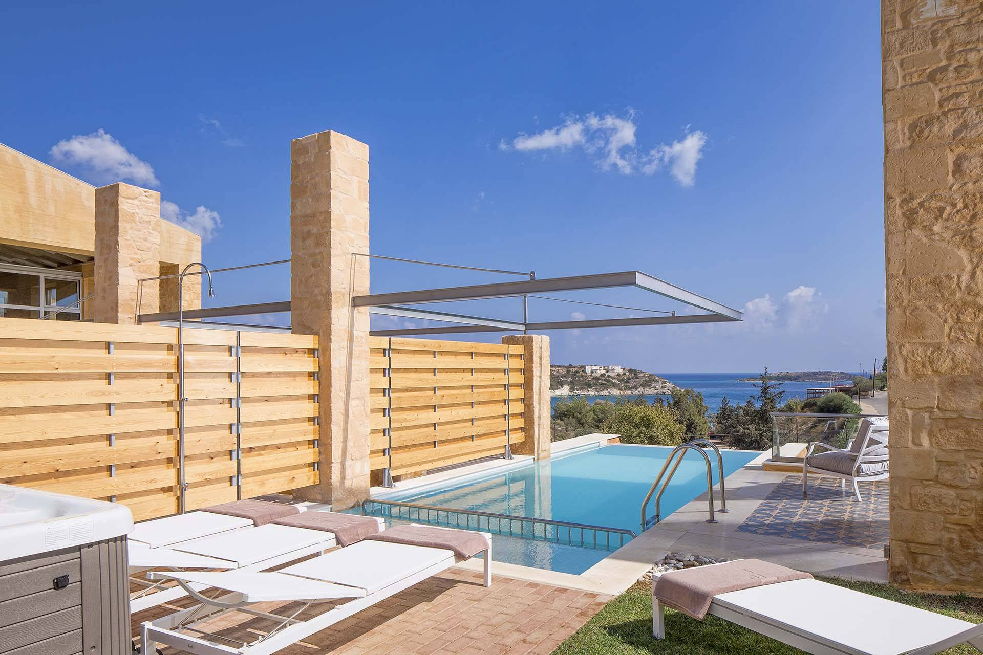 Crete luxury villa Rea in Loutraki