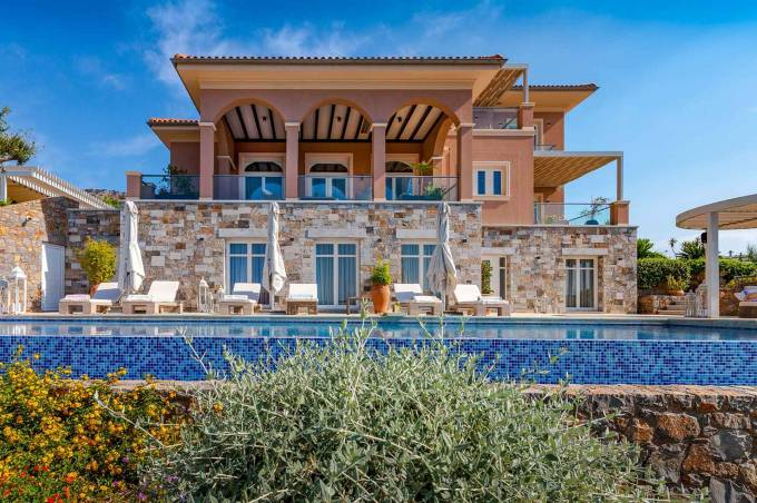 Crete luxury villa Panorama in Elounda