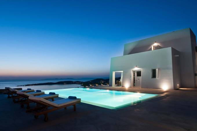 Paros luxury villa Odette in Parikia