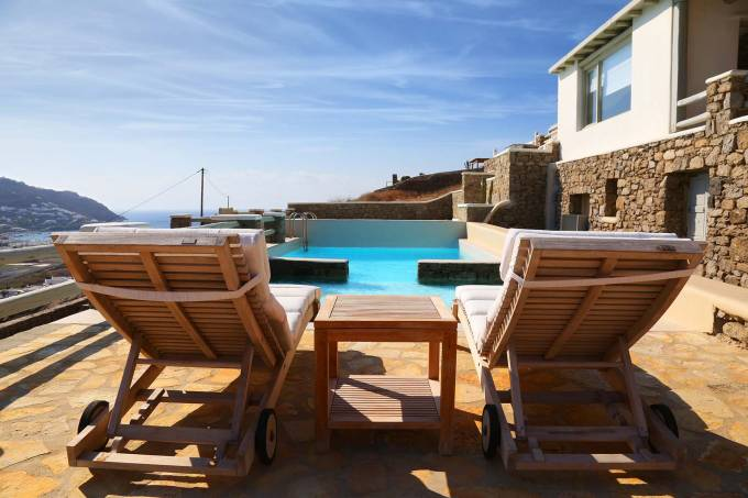 Mykonos luxury villa Sophia in Ornos