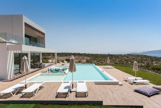 Crete luxury villa Zenith in Marathi