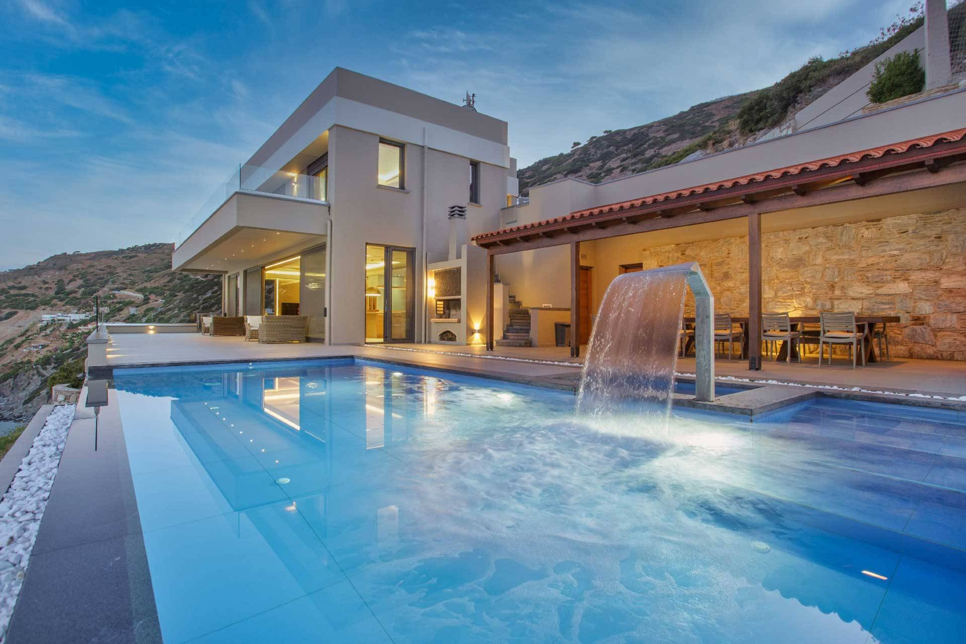 Crete luxury villa Suzette in Heraklion