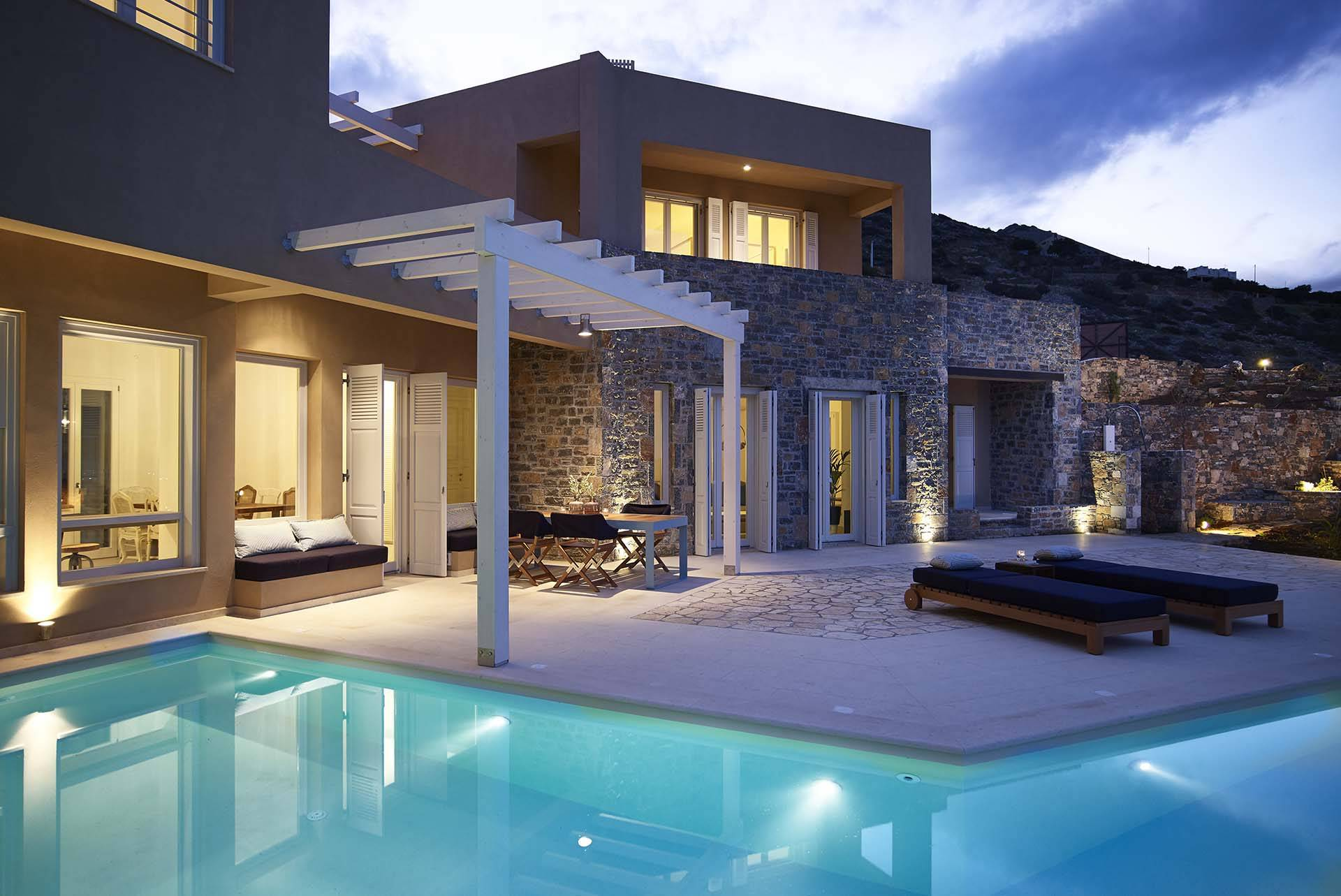 Crete luxury villa Mirabello II in Elounda