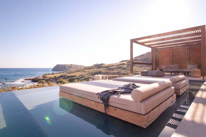 Crete luxury villa Medusa in Mochlos
