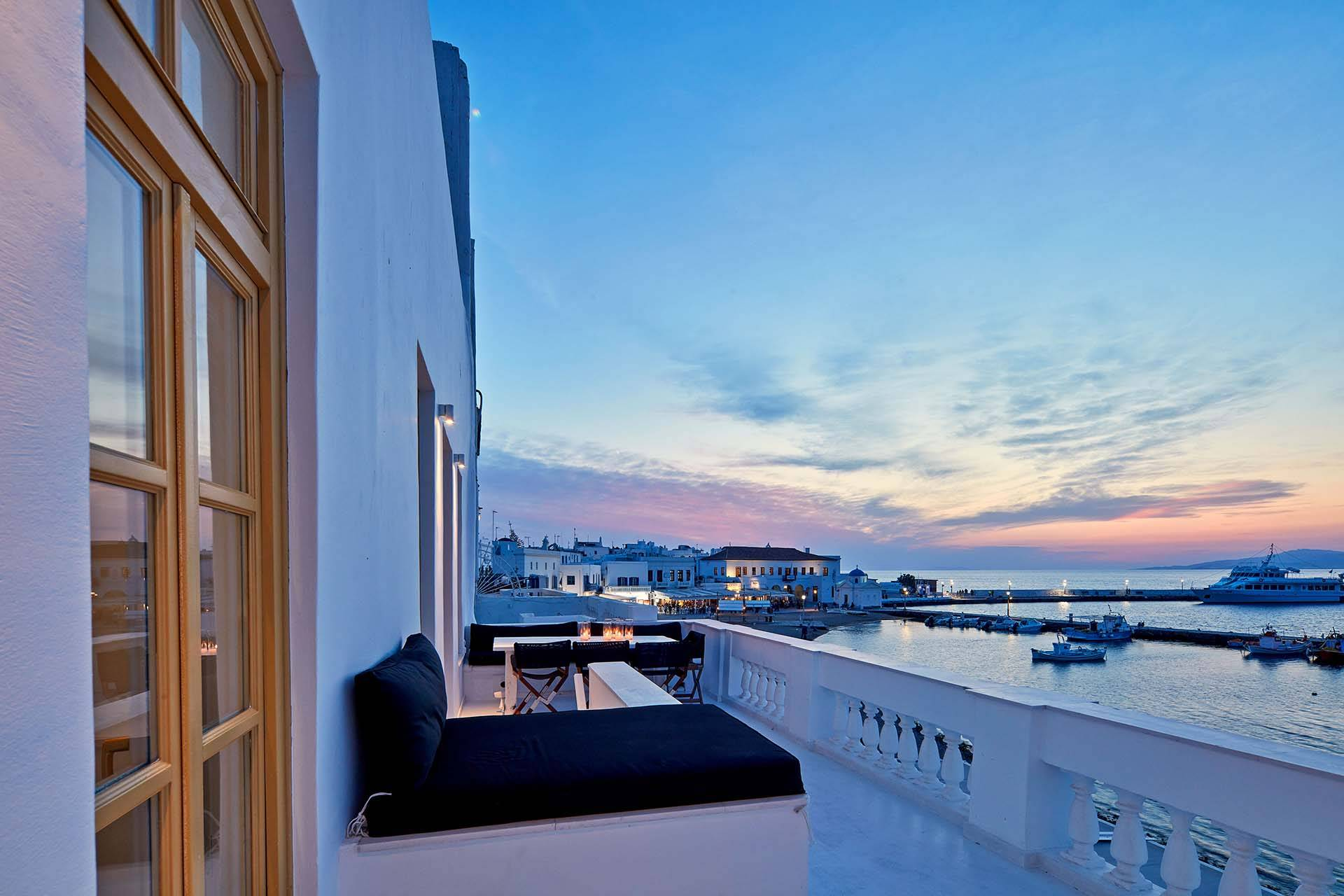 Mykonos luxury villa Anticlea in Mykonos Town