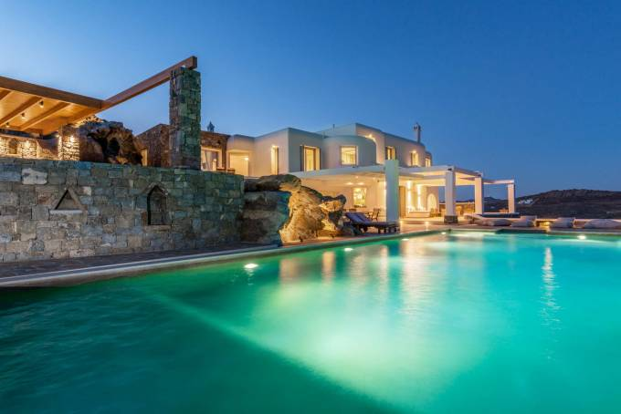 Mykonos luxury villa Starlight in Elia
