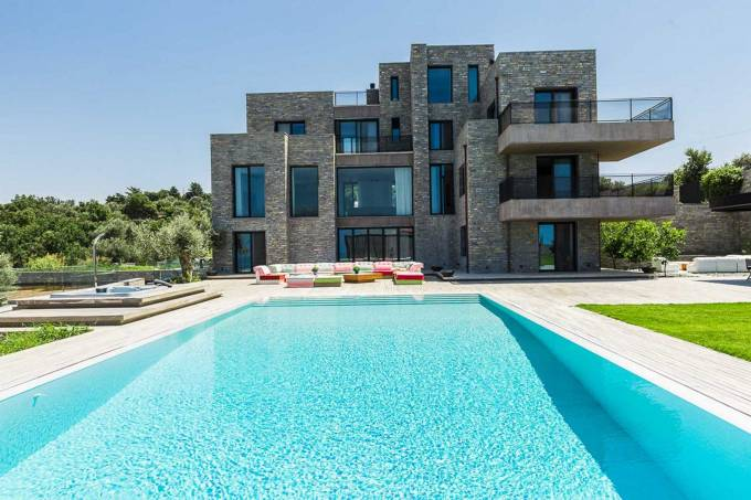 Crete luxury villa Cybele in Rethymno
