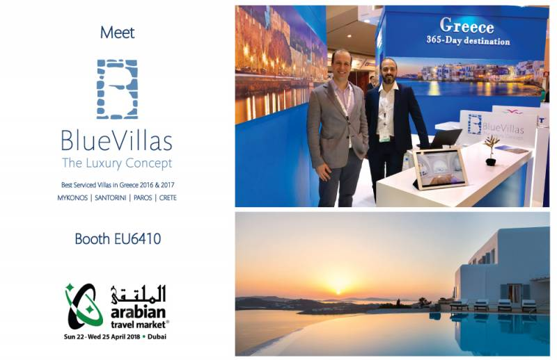 Join BlueVillas in ATM 2018