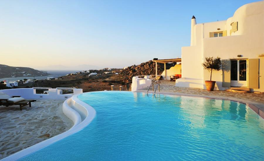 Mykonos luxury villa Althea in Ornos