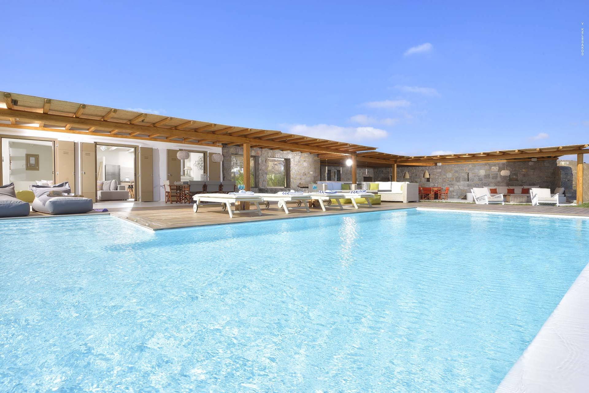 Mykonos luxury villa Albina in Elia