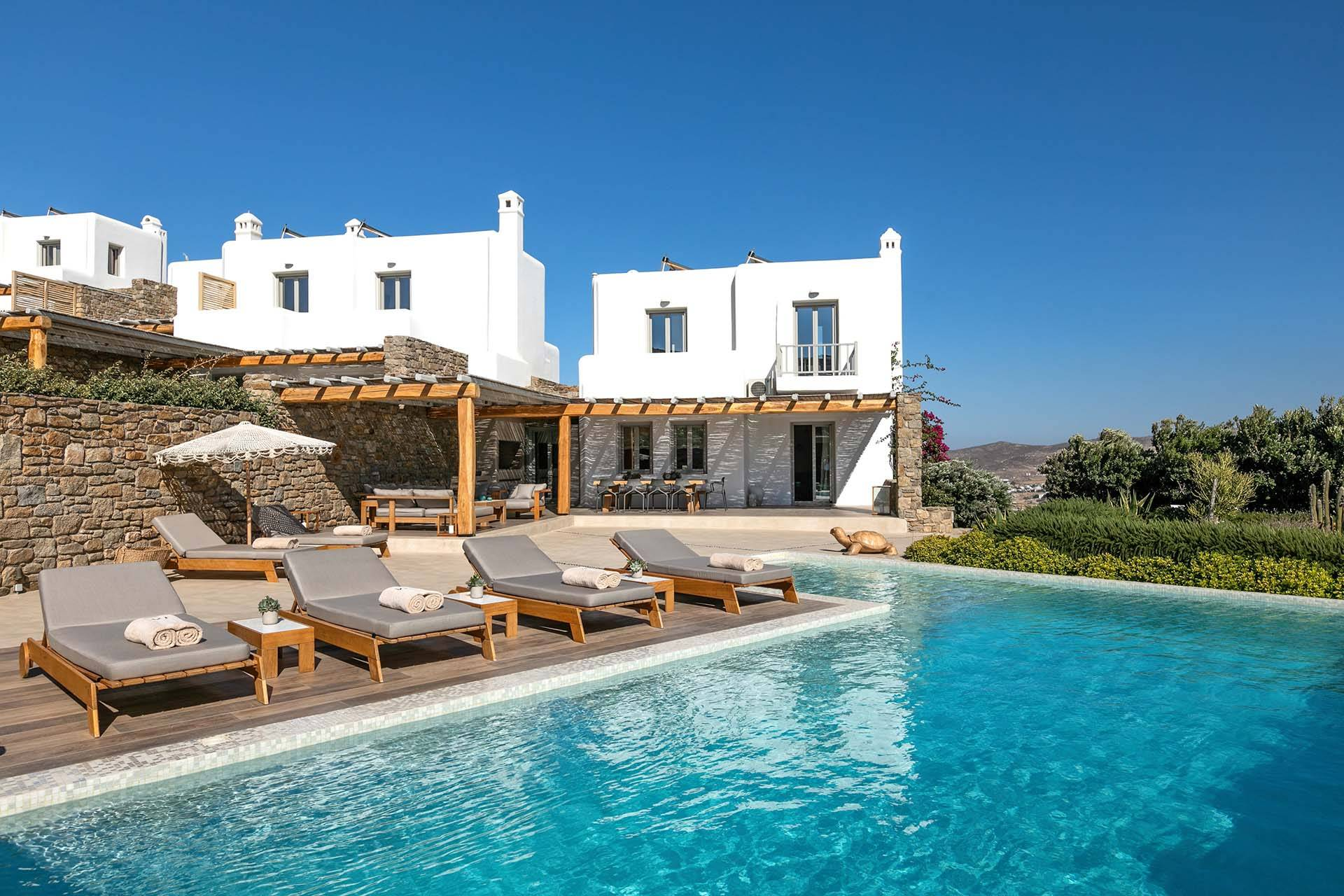 Mykonos luxury villa M Four in Agia Sofia