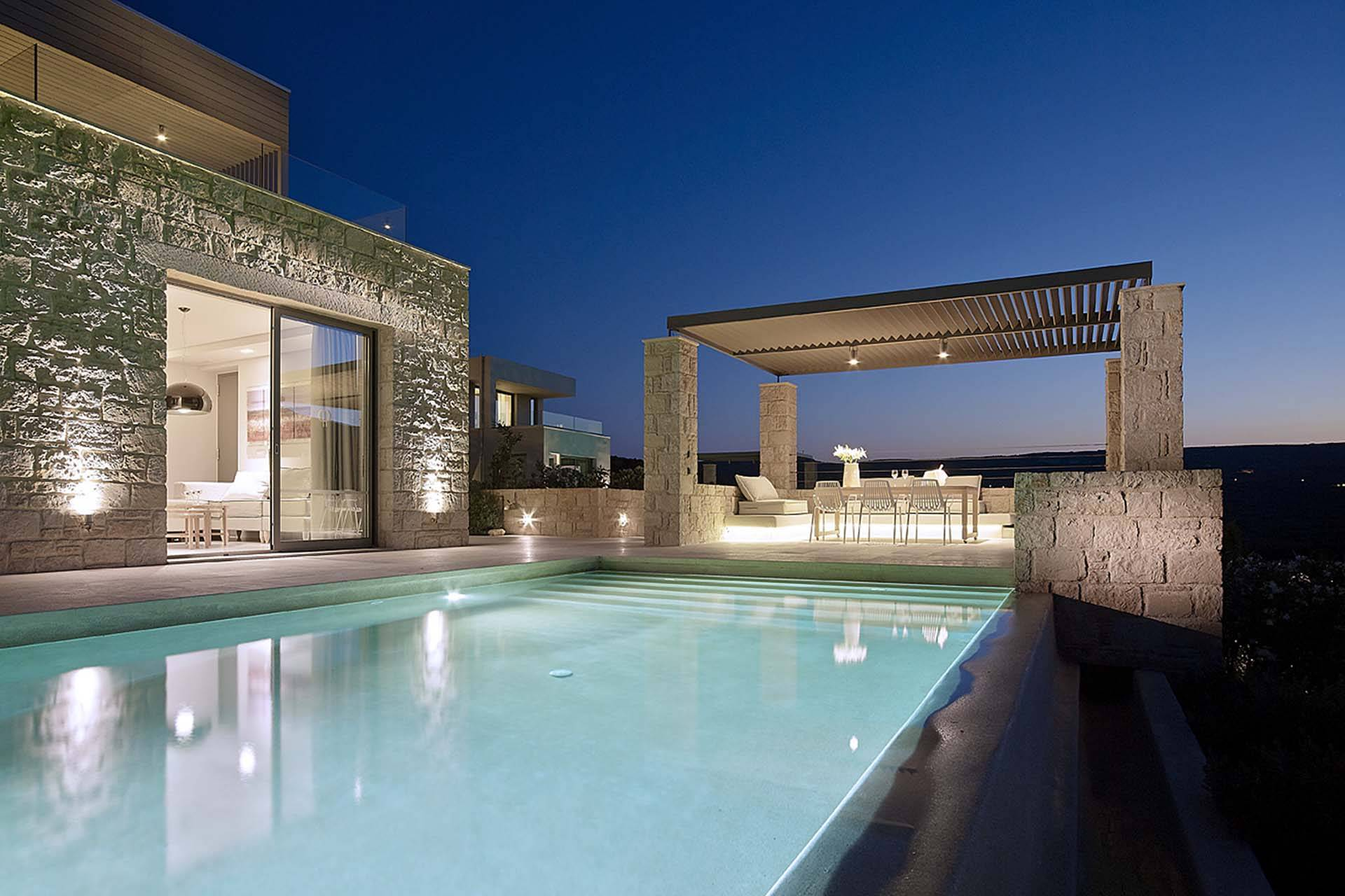 Crete luxury villa Treasure in Kissamos
