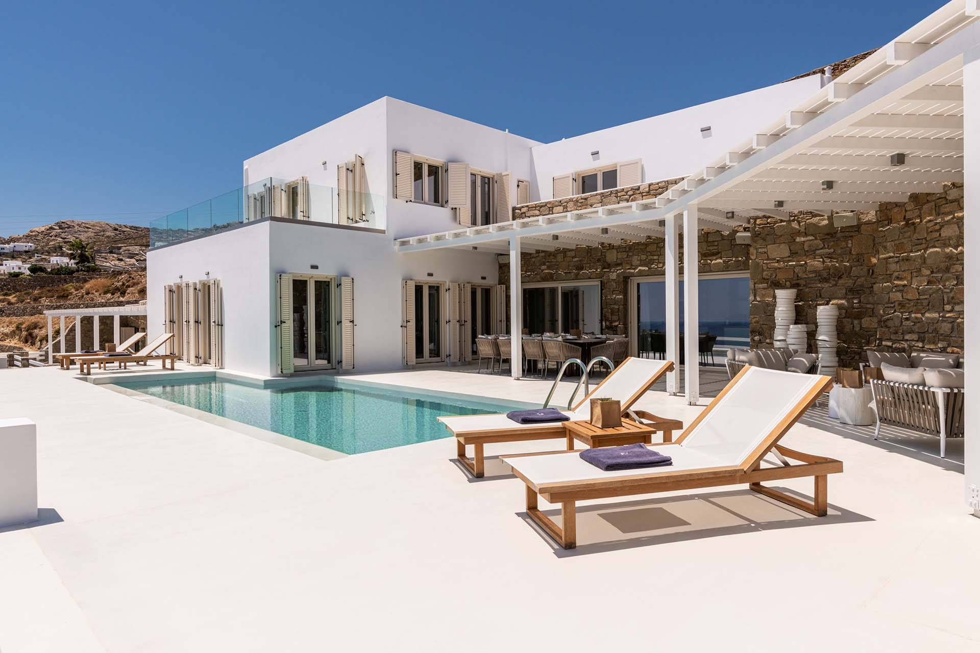 Mykonos luxury villa Astron in Elia