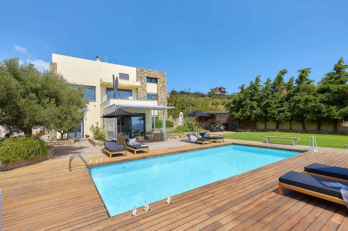 Crete luxury villa Candia in Heraklion
