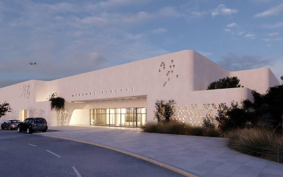 Mykonos Airport Project: Cycladic Form & Function