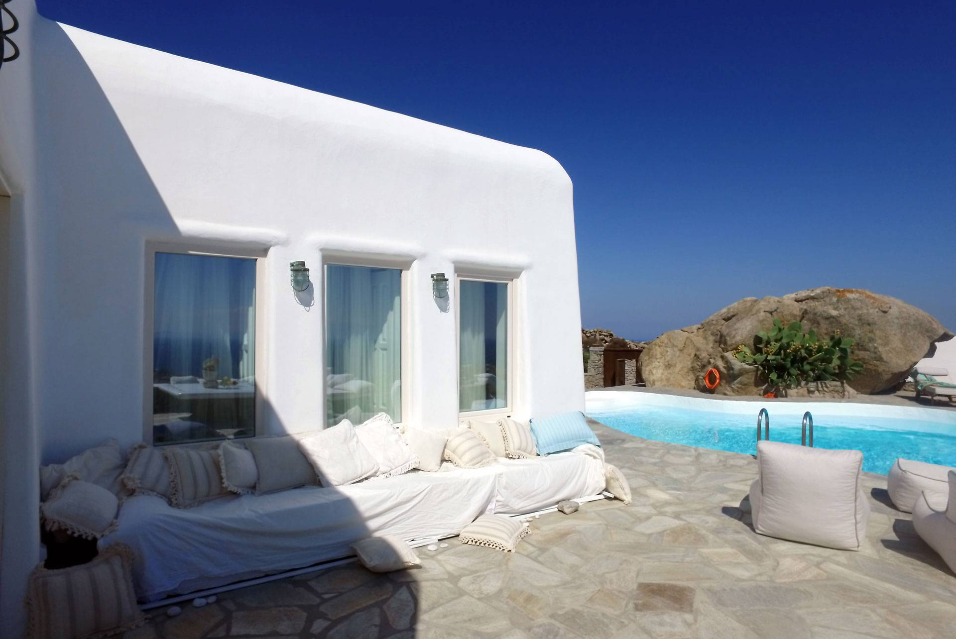 Mykonos luxury villa Orion in Chalara