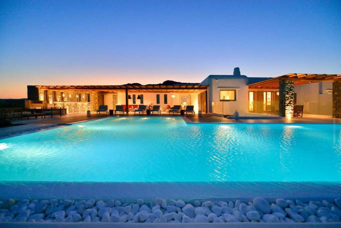 Mykonos luxury villa Melia in Elia