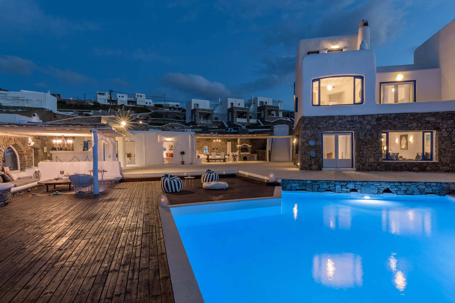 Mykonos luxury villa Platon in Pouli
