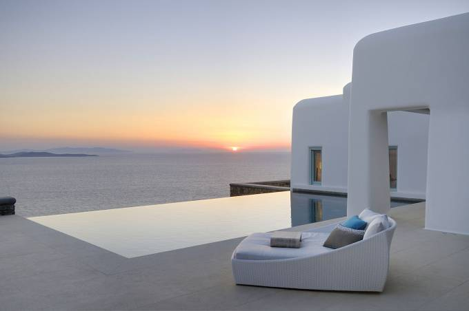 Mykonos luxury villa Philippos in Pouli