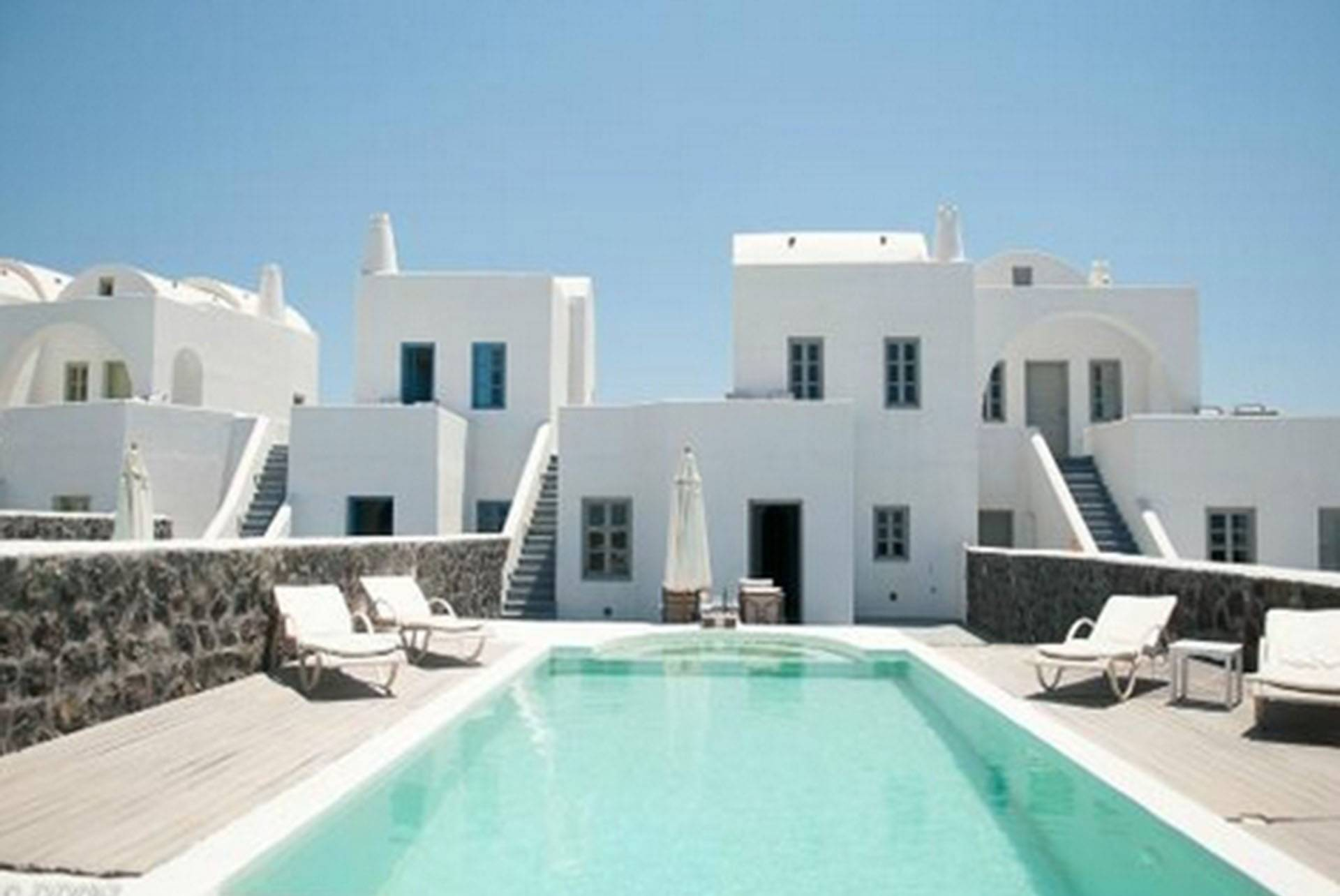 Santorini luxury villa Hera in Megalochori