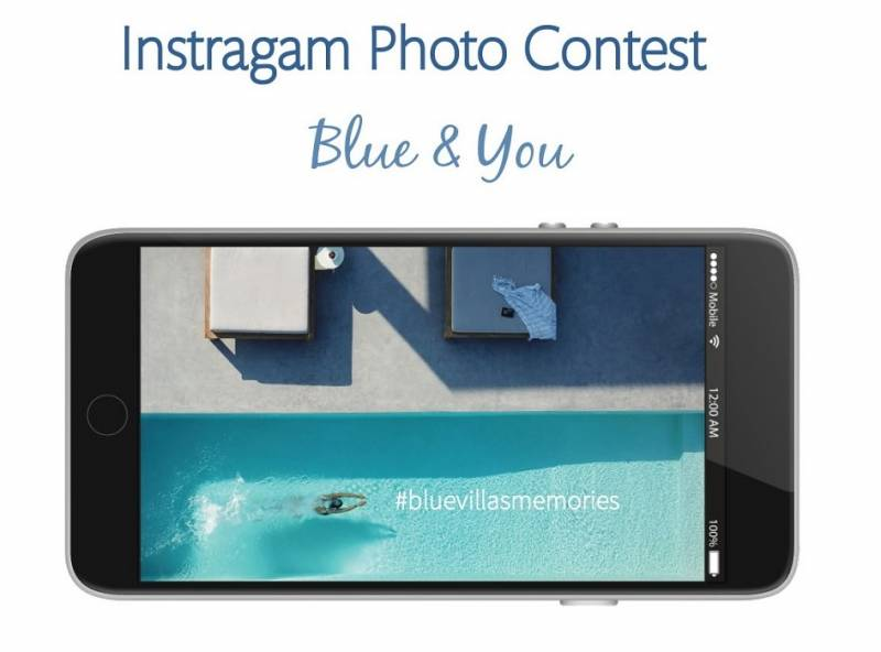 """Blue & You"" BlueVillas Instagram Photo Contest 2019"