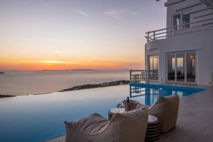 Mykonos luxury villa Fabiana in Fanari