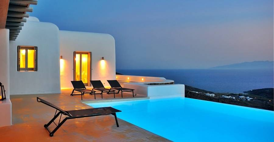 Mykonos luxury villa Marcia in Lia