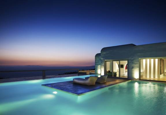 Mykonos luxury villa Eveline in Tourlos