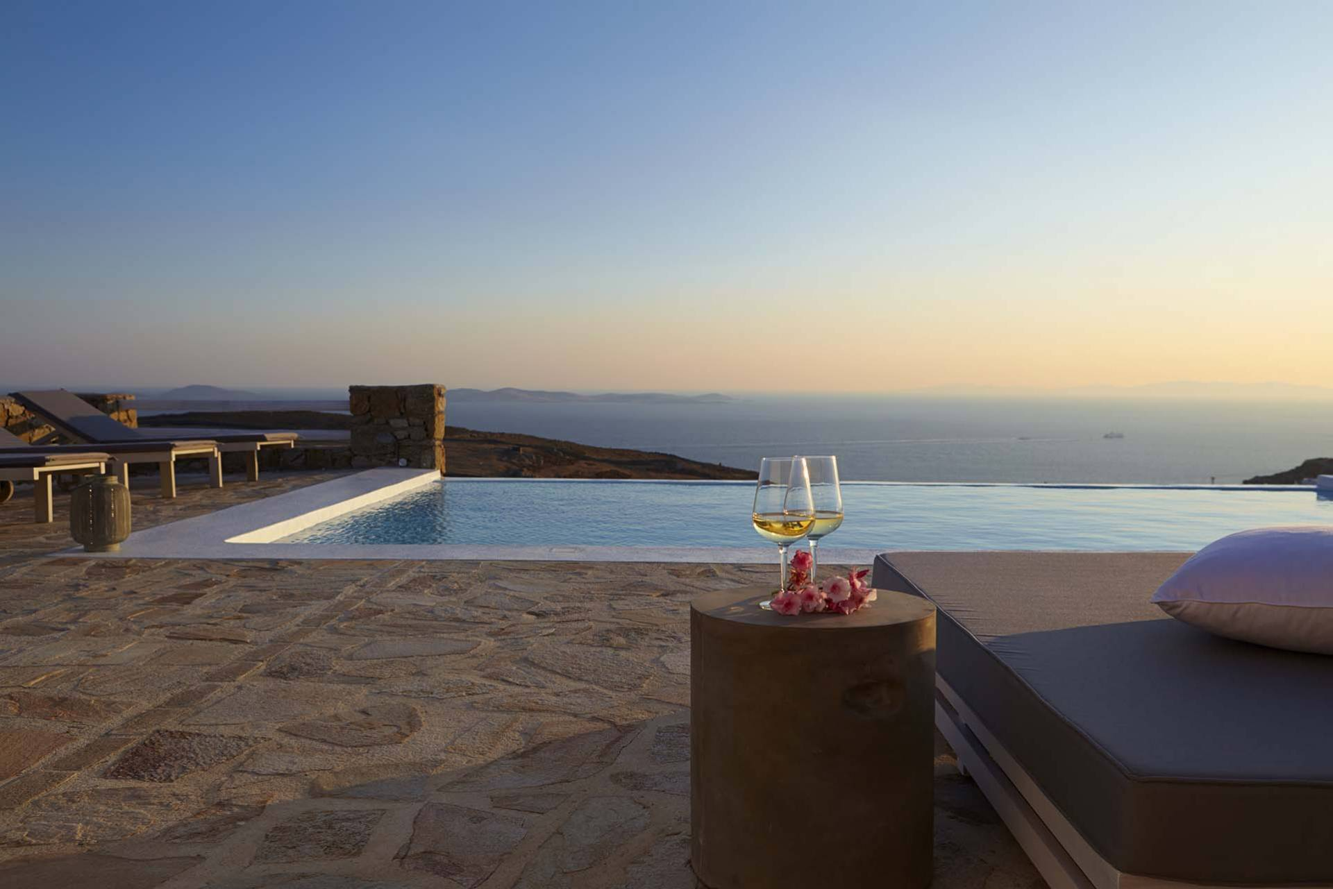 Mykonos luxury villa Crystal Fairy in Fanari