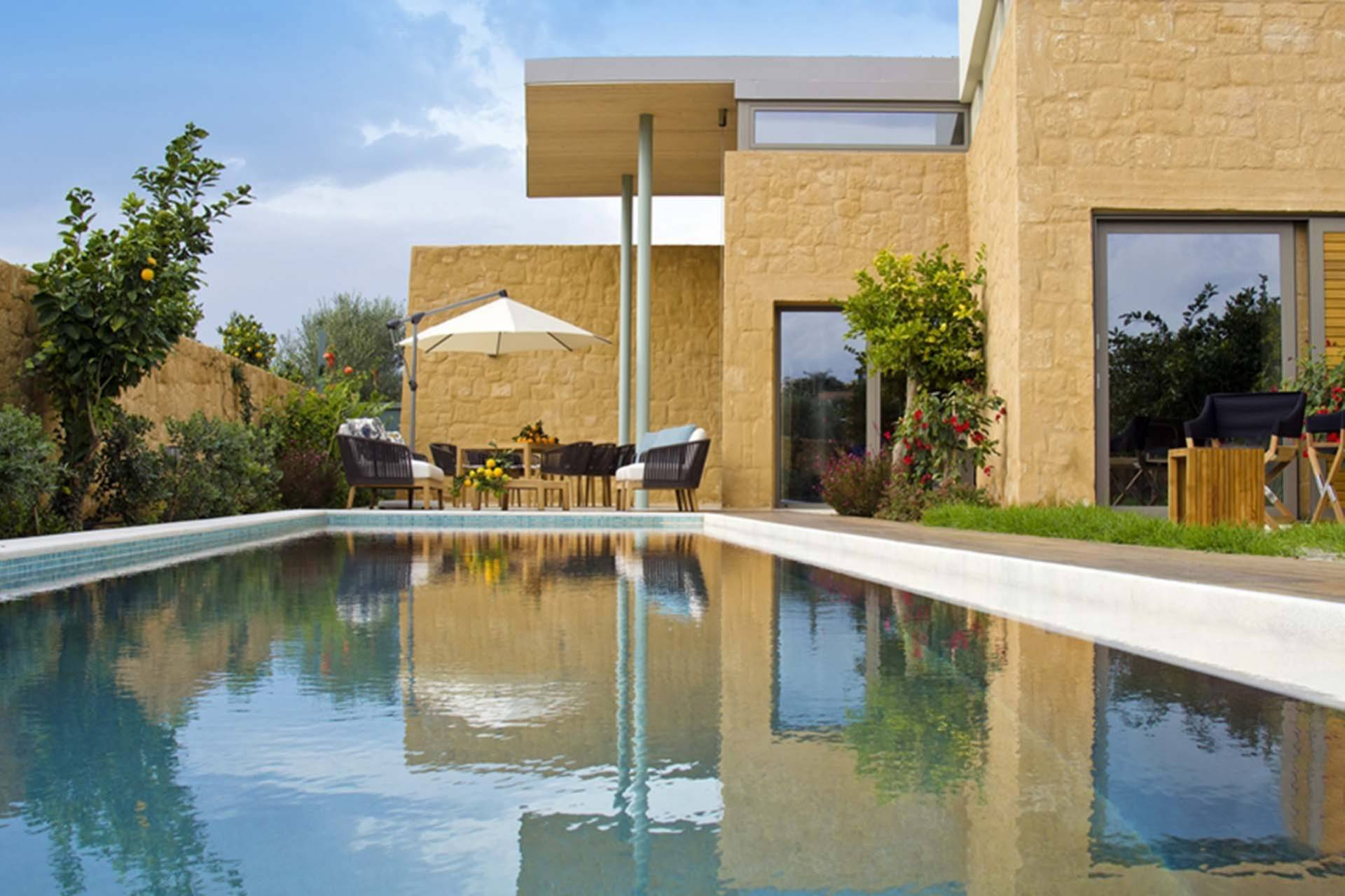 Crete luxury villa Orangia in Chania
