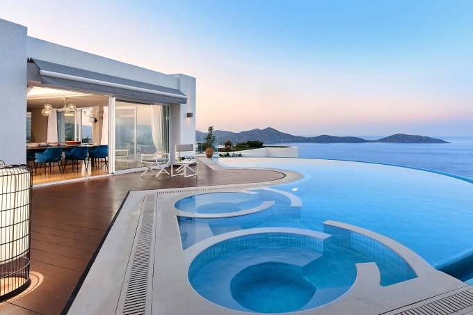 Crete luxury villa Royal Spa in Elounda