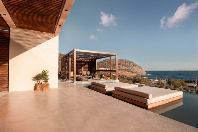 Crete luxury villa Euryale in Mochlos