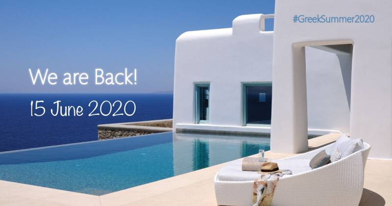 BlueVillas is Back | Welcome to Greek Summer 2020