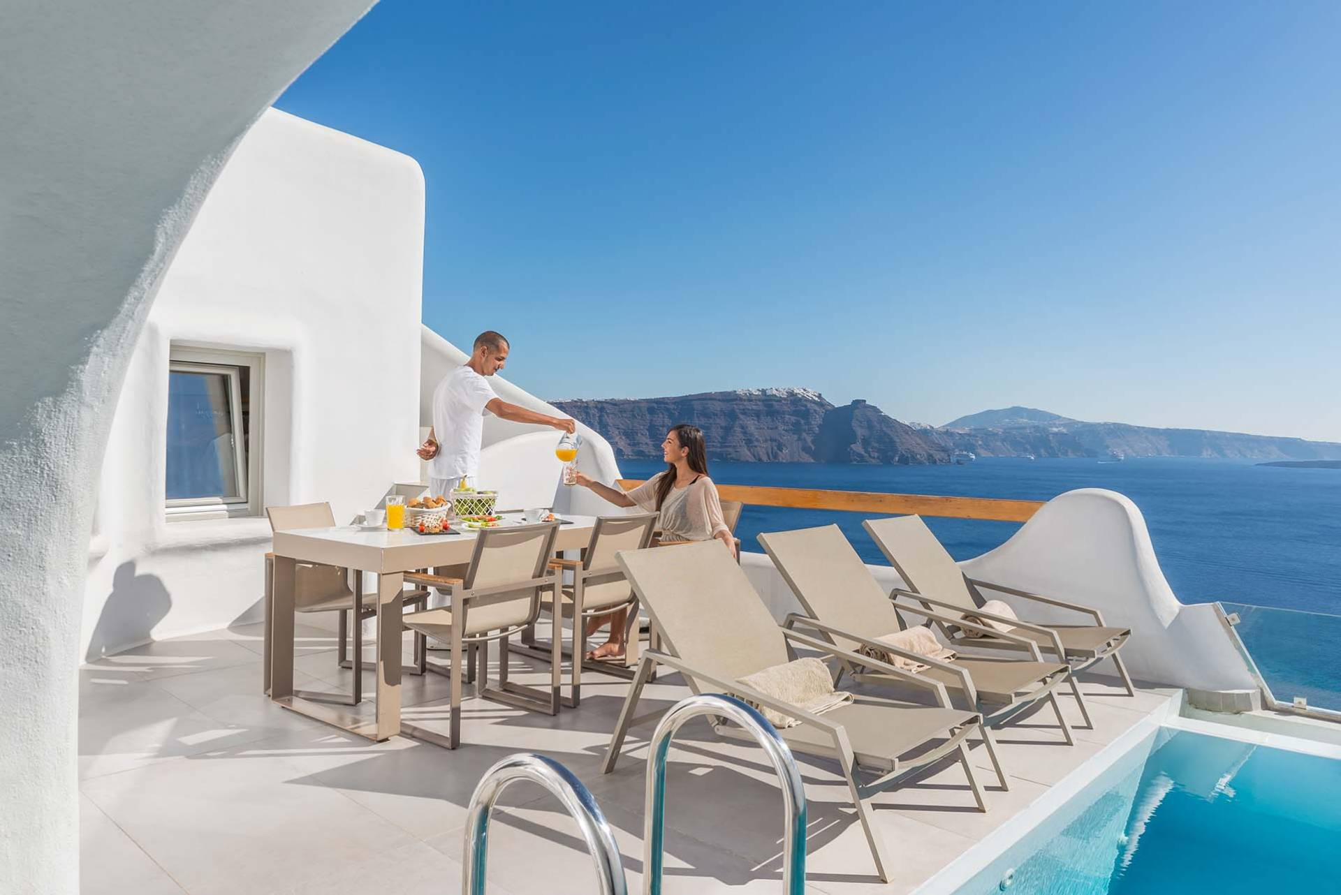 Santorini luxury villa Elite Grand in Oia