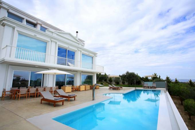 Crete luxury villa Sauvage in Heraklion