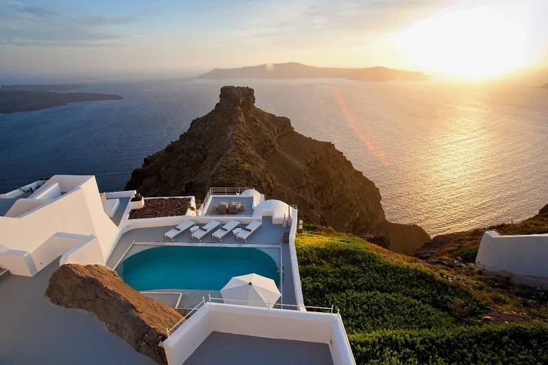 Luxury Villa Grace in Santorini